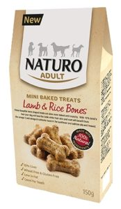 Naturo Treats Lamb & Rice Bones LR